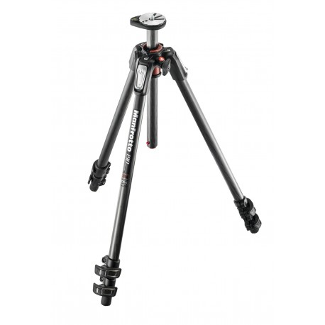 MANFROTTO 190XPRO, Trépied 3 sections, Carbone