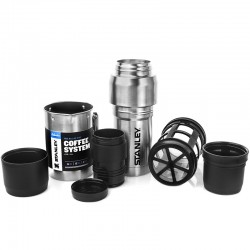 STANLEY KIT CAFETIERE A PISTON 0.5 L ACIER