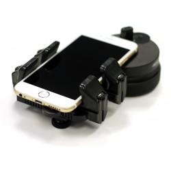 Novagrade - Adaptateur double grippe de digiscopie pour smartphone ou tablette