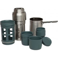 STANLEY KIT CAFETIERE A PISTON 1L ACIER